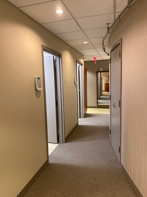 front hallway in the office at Sachar dental NYC