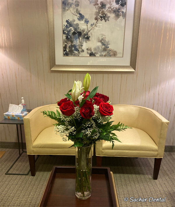 Best Dentist NYC - Sachar Dental NY waiting room
