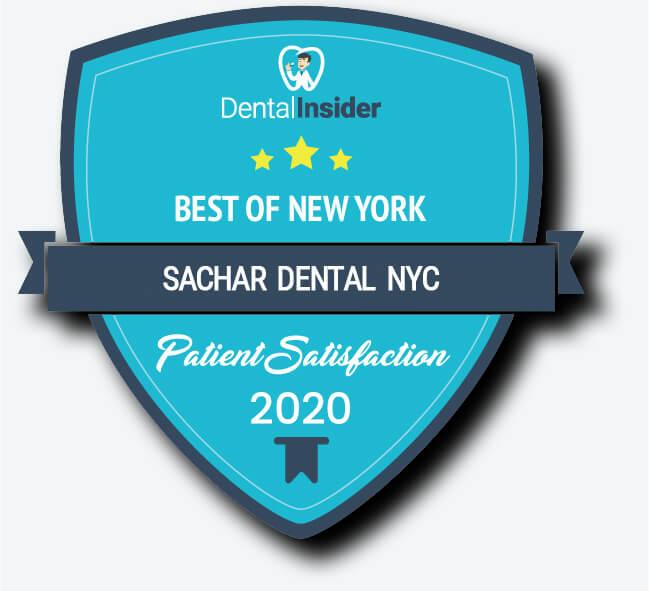 Best Dentist NYC Award Sachar Dental NYC