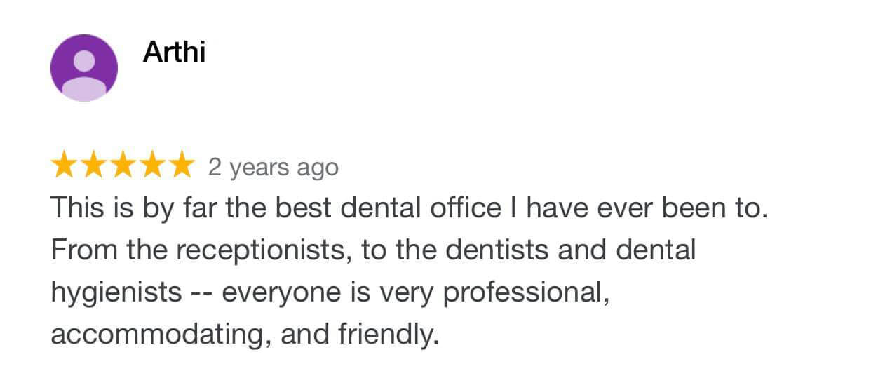 Dentist NYC Review