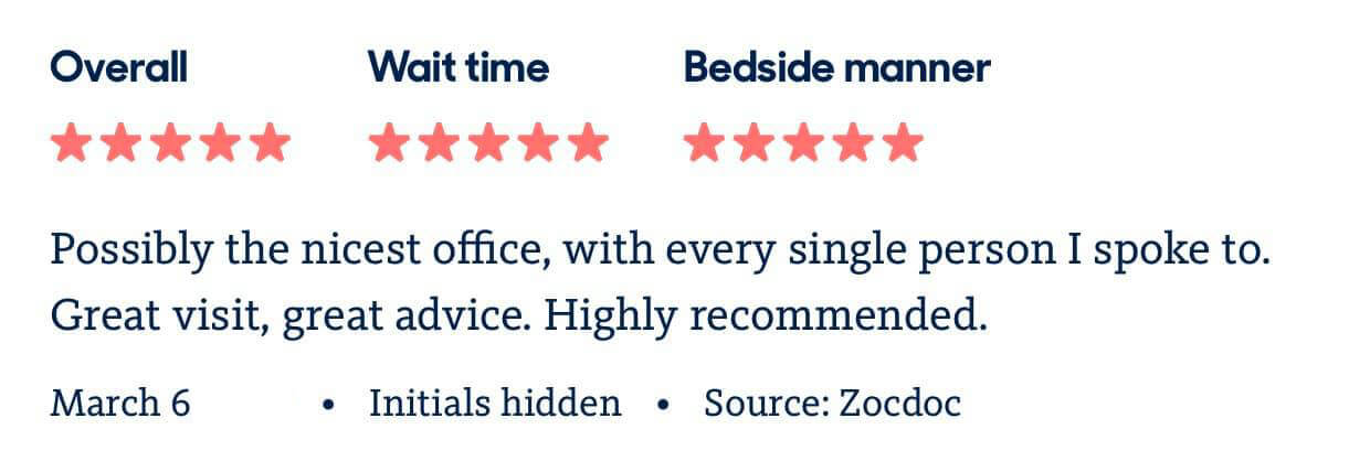 Review for Dentist NYC
