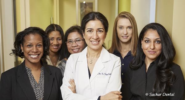 Top NYC Dentist Dr Sandip Sachar with Sachar Dental NYC Team