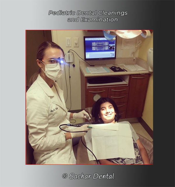Children's teeth cleaning in NYC